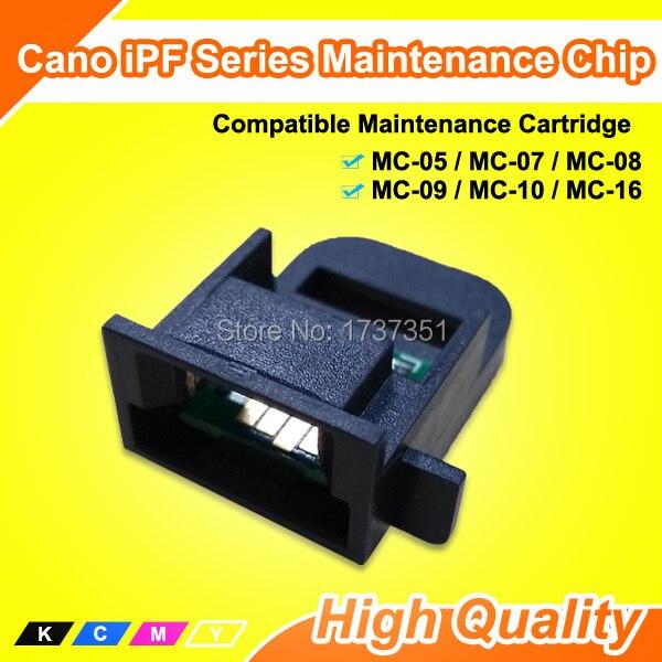 Maintenance Cartridge chip and chip holder For Canon iPF Series MC-05 MC-07 MC-08 MC-09 MC-10 MC-16 цена