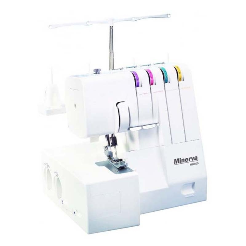 Sewing machine Minerva M840DS hot sell 5000m roll colorful multipurpose reflective sewing thread free shipping