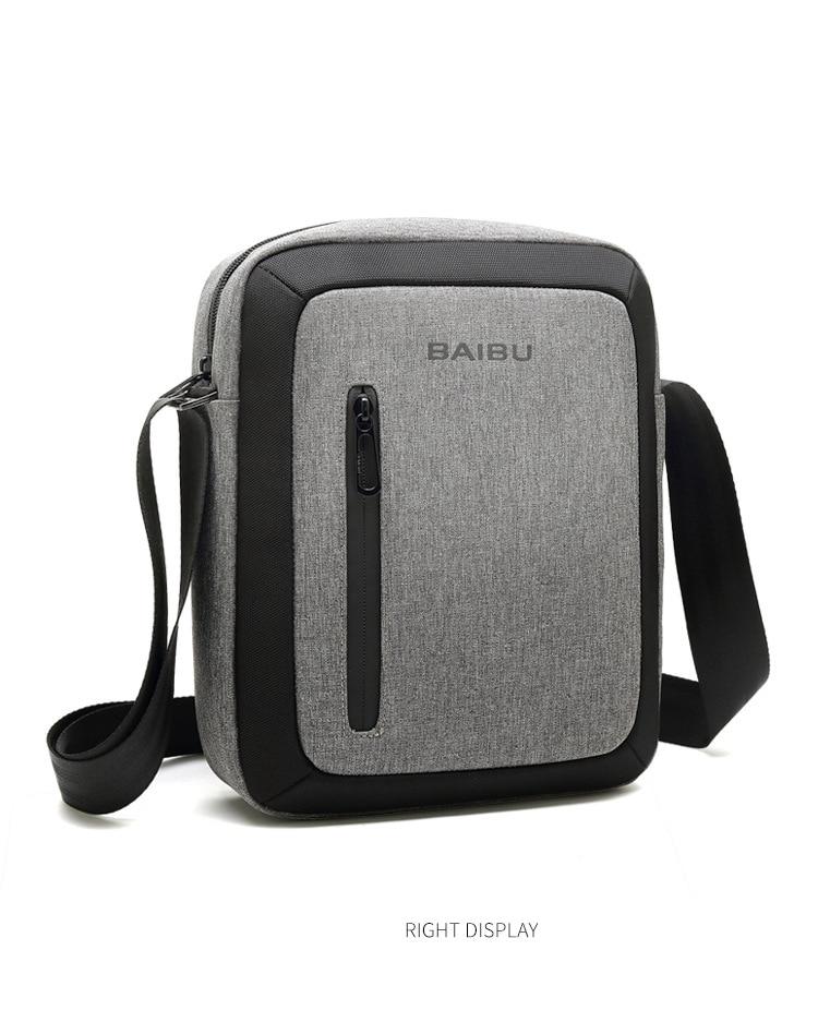 5413c2fab3 Detail Feedback Questions about BAIBU Multifunction Men Shoulder Bag ...