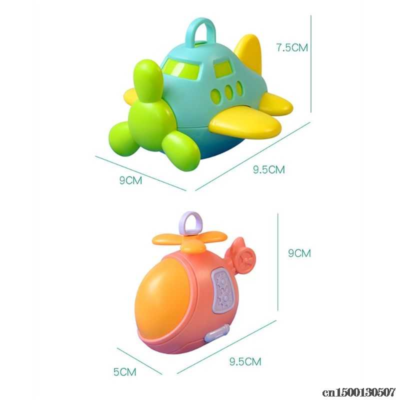High Quality Infant Baby Toys Plane Handbells Rattles Teether Baby Bed Stroller Hanging Toddler Newbron Gift Drop Ship