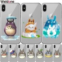 c898a377a7 Fundas かわいいとなりのトトロジブリ宮崎漫画の携帯電話ケース iPhone XS (China