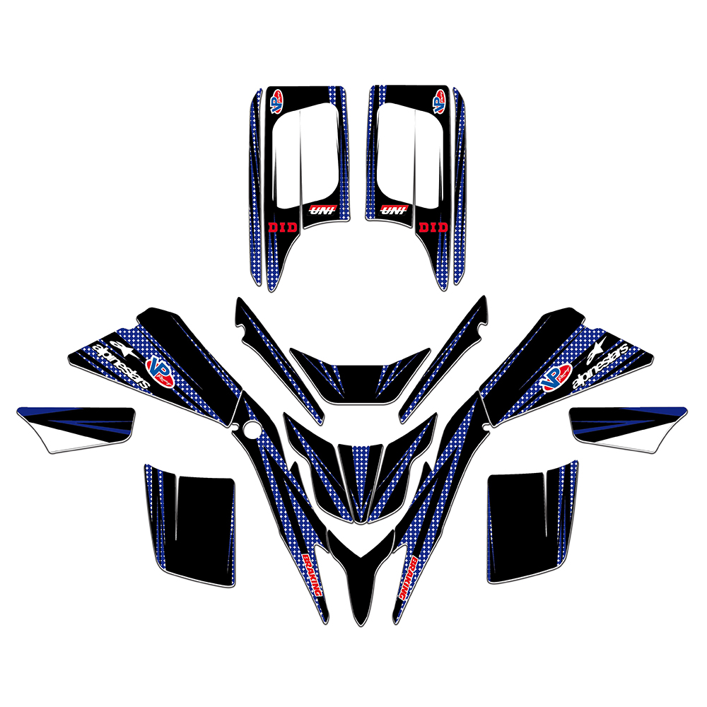 1988-2006 YAMAHA BLASTER 200 GRAPHICS KIT DECO STICKERS ATV QUAD 4 WHEELER FOUR