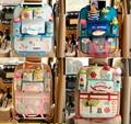 Lindo Bolsa Caja de Almacenamiento Organizador Asiento Trasero Del Coche Multi Del Bolsillo de Dibujos Animados Colgando Titular De Aislamiento de La Momia Bolsas para Niños