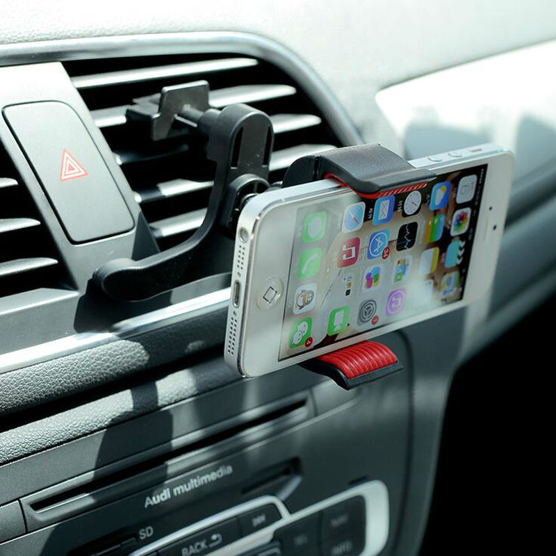2016 NEW Universal Car Air Vent Cell Phone Holder In Car Mount For Your Iphone6 Plus