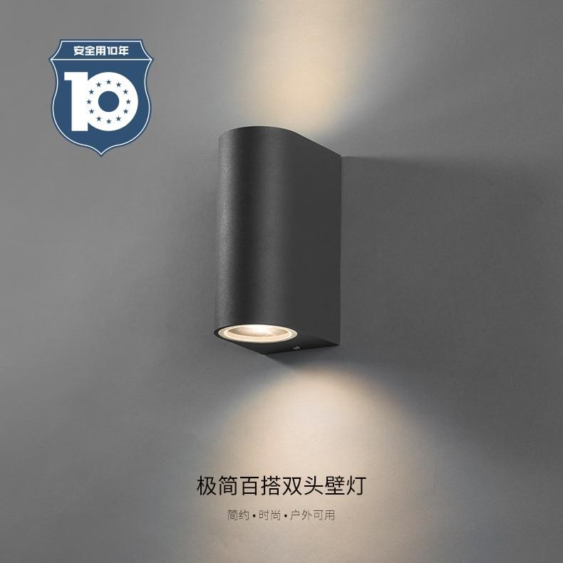 Modern LED Wall Lamp Lighting Surface Mounted 4 8W Outdoor Lighting Waterproof IP65 Wall Lights Garden