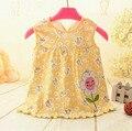 2017 Новое Лето Baby Girl Dress Принцессы 0-1 Год Рождения Младенческой Девушка Dot Новорожденных Платья Девочки Cutton одежда