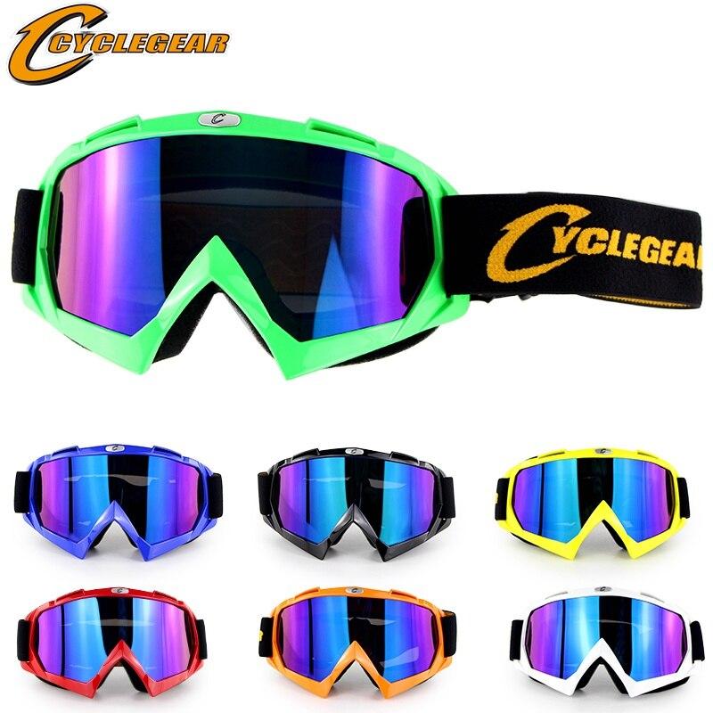 Brand Motorcycle Helmet Glasses Goggles Skateboard Gafas Motocross Racing Cross Off Road ATV Cycling Color Skiing Skating Goggle