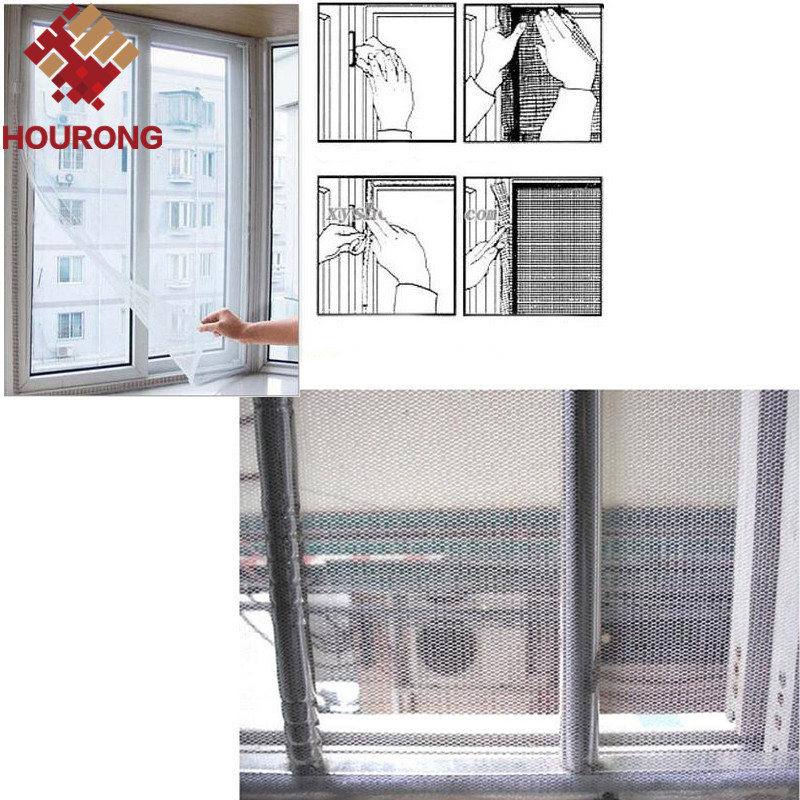 1pcs 2016 150 200cm dg new window screen mesh net insect for Screen new window