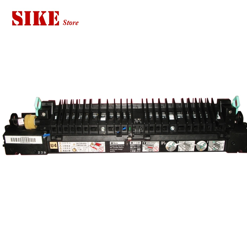 Fusing Heating Unit Use For Fuji Xerox DocuPrint C2428 2428 Fuser Assembly Unit fusing heating unit use for fuji xerox docuprint cm118 cm205 cp105 cp205 cp118 cp119 c6010 c6000 c6015 fuser assembly unit