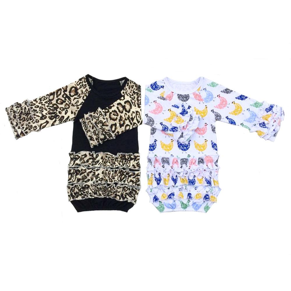 baby girl pajamas ZD-BRLSR009 (1)