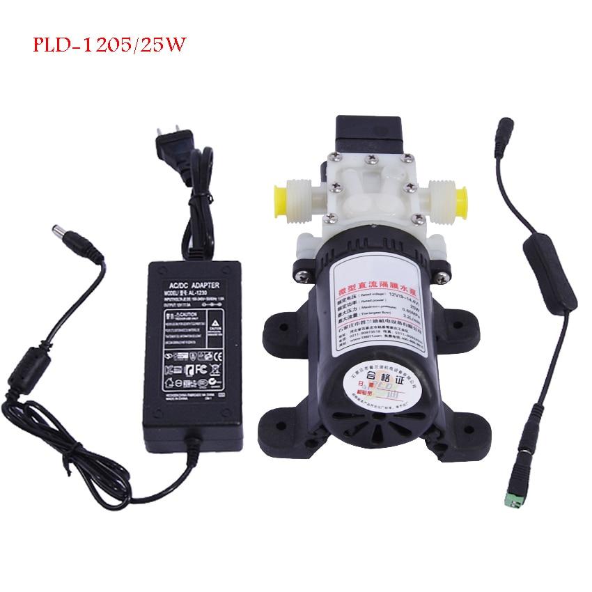Realistisch Haushaltswasserfilter Booster Pumpe Selbstansaugende Pumpe Direkten Getränk Maschine Supercharged Miniatur Saugpumpe Pld-1205/25 Watt Heimwerker Sanitär