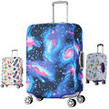 Travel Luggage Suitcase Protective Cover Apply To 18~32 Inch Case Luggage Cover Elastic Material Print Dust-Proof