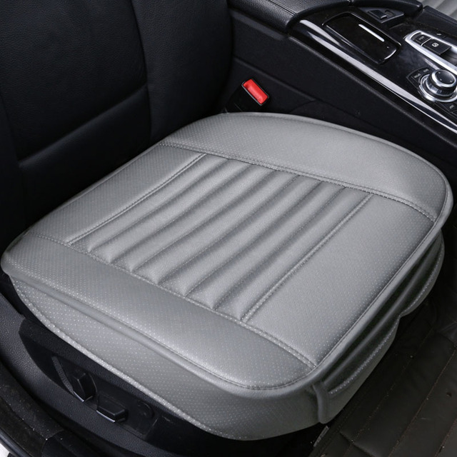 Car Seat Cushion Leather Car pad 4 Seasons Wear-resistant Car-styling Auto Accessories All cars Free Shipping