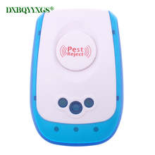 цена на Hot High Quality Electronic Ultrasound Indoor Mosquito Control Insect Control Flies Cockroach Mosquitoes Rats Ontrol For Pest