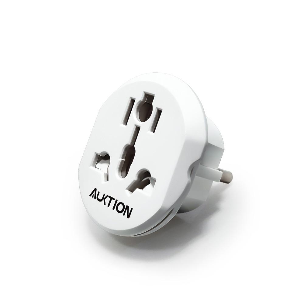 Вилка европейского стандарта, дорожный адаптер переменного тока с вилкой Стандарта Великобритании, США, Австралии, CN на 16A, европейская розе...