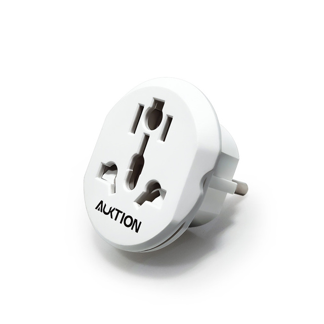 Good EU Universal UK US AU CN to 16A EU Adapter AC Power Socket Euro Europe Travel Wall Plug Charger Converter Outlet Adapter