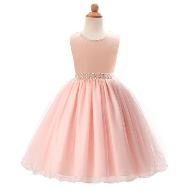 Kleider Für Weihnachten.Us 15 92 41 Off Mädchen Kleid Kleidung Prinzessin Spitze Sleevele Kleider Kostüm Rosa Mädchen Kleider Weihnachten Blume Geburtstag Princesa