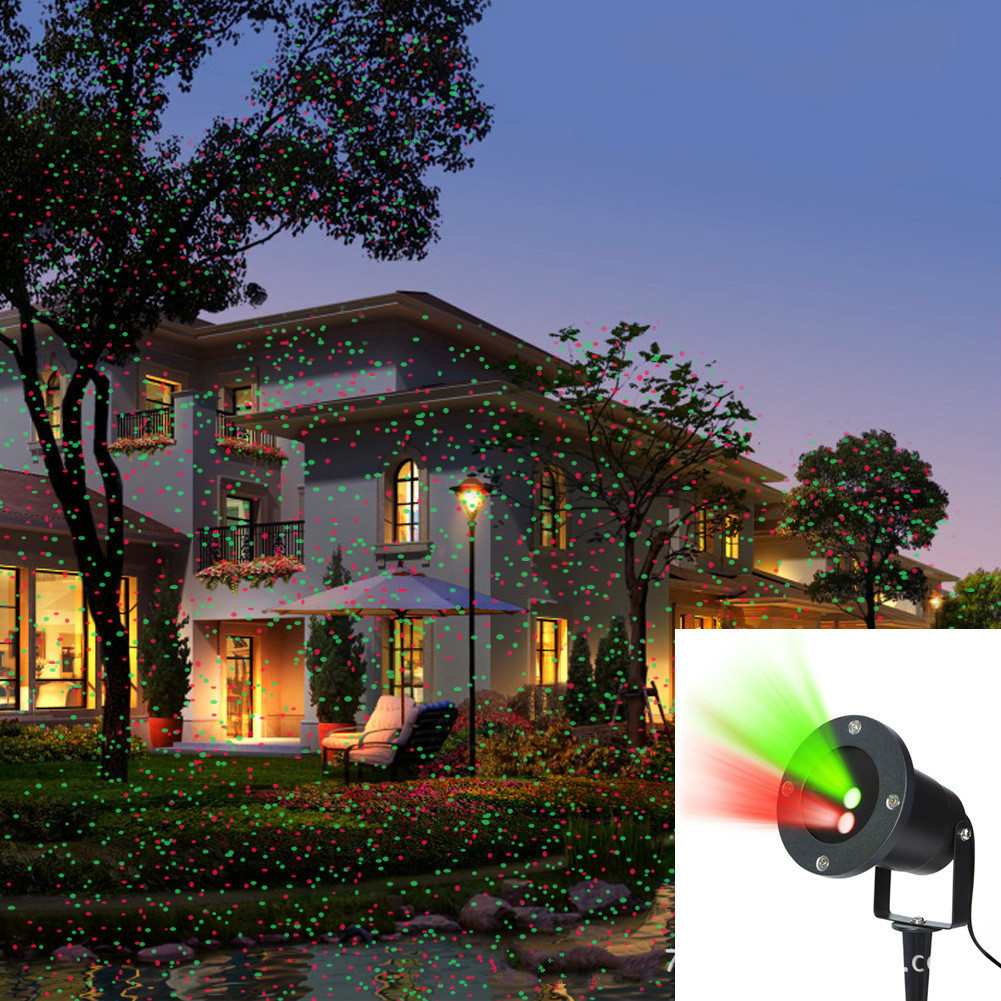 Real certified SUNY high quality lawn laser light outdoor waterproof plug in ground lamp still all over the sky high quality single color all over the sky star waterproof outdoor laser lawn lamp christmas landscape light quality guarantee