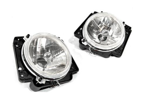 Прозрачные линзы Ангел глаз головного света для VW Джетта МК2 / Фольксваген Гольф МК2