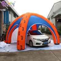 Free Shipping Digital Printed Inflatable 4 Legs Spider Tent Customized 6 Meters Dia Blow Up Tent