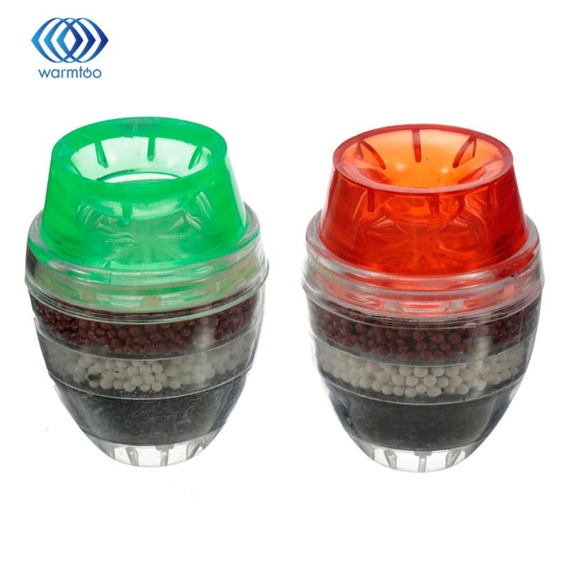 Коснитесь фильтр для воды Кухня очиститель воды кран мини бытовые активированный уголь удаления ржавчины осадка фильтрации взвешенных 21-23 ...