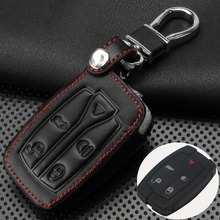 Remote 5 Buttons Car Key Case Cover Leather 5 Buttons Remote Key Shell Uncut Blade Fob Case Fit For Land Rover Freelander 2 3 2 buttons uncut blade keyless entry remote key shell case for rover land rover freelander zs zr 200 400 25 45 refit key shell