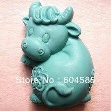 Happy бык 50343 Craft Книги по искусству силиконовые Мыло плесень Ремесло Пресс-формы поделки ручной работы формы для мыла