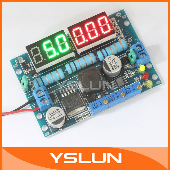 lm2596 dc 5v  12v power supply buck converter cc cv led