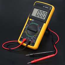цена на Handheld XL830L/DT-9205A  LCD Multimer Digital Multimeter Backlight AC/DC Ammeter Voltmeter Ohm Tester Meter