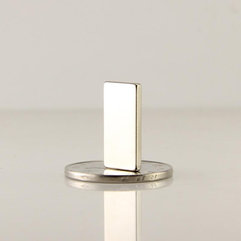 46mm x 6mm x 4mm Very Strong Neo NdFeb Neodymium Rectangular Block Bar Magnets