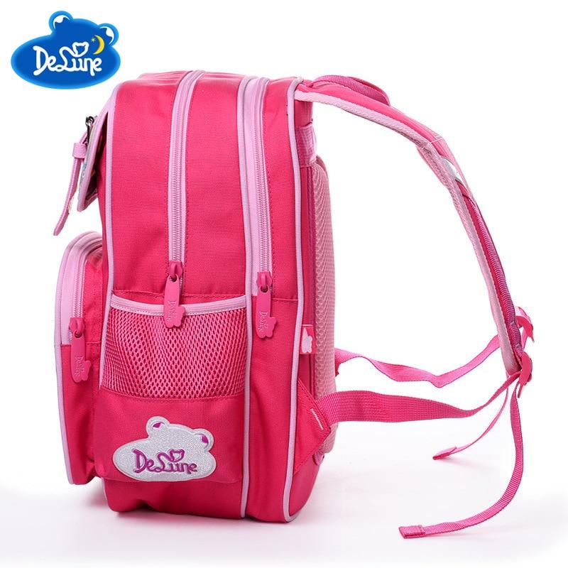 Бренд школьные сумки безопасный ортопедическая детская школьный рюкзак для девочек Водонепроницаемый Мультфильм школьный Ultralight дети порт...