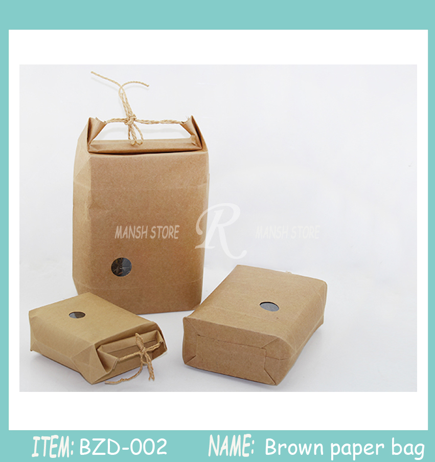 30pcs Rice Paper Packaging Tea Packaging Cardboard Paper