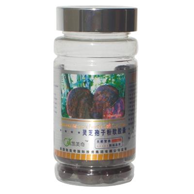 2 garrafas 500 mg * 100 pcs Pó de Esporos Reishi Lingzhi Selvagem Ganoderma Lucidum cápsula Medicina Natural Chinesa Anti-envelhecimento