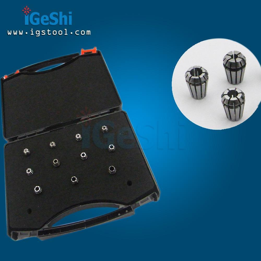11 Pieces ER11 Collet Set - 2mm To 7mm (0.5 Mm Increase) Precision: 0.005mm-0.008mm