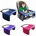 Bandeja De Armazenamento No Carro à prova d' água Para O Brinquedo e Pintura Criança Mesa Mesa Mesa Cintas de Fixação de Assento Do Bebê Macia