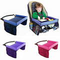 Waterproof Storage In Car For Toy and Painting Child Tray Desk Table Tabletop Soft Baby Seat Attachment Straps