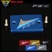 RiderJacky Para YAMAHA FZ8/FAZER FZ 8 2010-2014 2011 2012 2013 Motocicleta Reservatório de Fluido de freio Dianteiro Azul tampa de cobertura