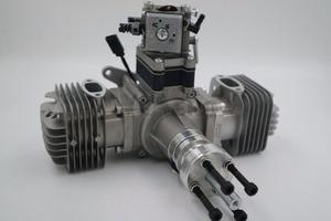 Image 2 - RCGF 70cc двухцилиндровый бензиновый/бензиновый двигатель для радиоуправляемого самолета