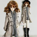 1/3 1/4 Bjd clothes windbreaker bjd trenchcoat sd