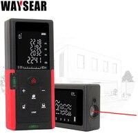laser distance meter 80M 100 rangefinder laser range finder tape distance measurer range finder measure ruler