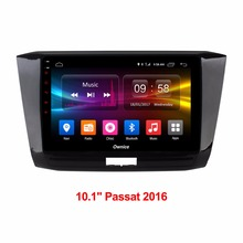 HD 1024 10 1 inch Android 6 0 Car DVD Player For Volkswagen VW Passat 2016