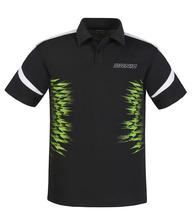 Nowy DONIC TABLE tenis koszulki T-shirty 100 bawełna oddychająca rakieta sport T shirt szybki suchy Koszulka z krótkim rękawem tanie tanio Mężczyzn Pasuje do rozmiaru Weź swój normalny rozmiar