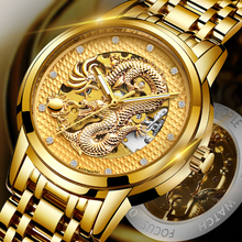 Dragon Skeleton Automatic Mechanical Watches For Men Wrist