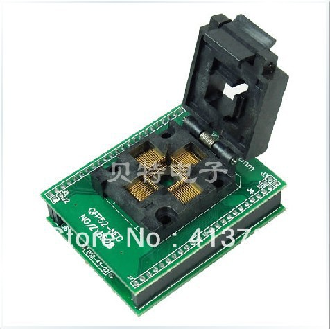 все цены на Ucos QFP52 dedicated IC burn forward ZY552B test socket adapter онлайн
