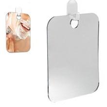 Espejo de ducha antivaho acrílico espejo de baño sin niebla espejo de viaje para hombre espejo de afeitar 13*17cm viaje #10