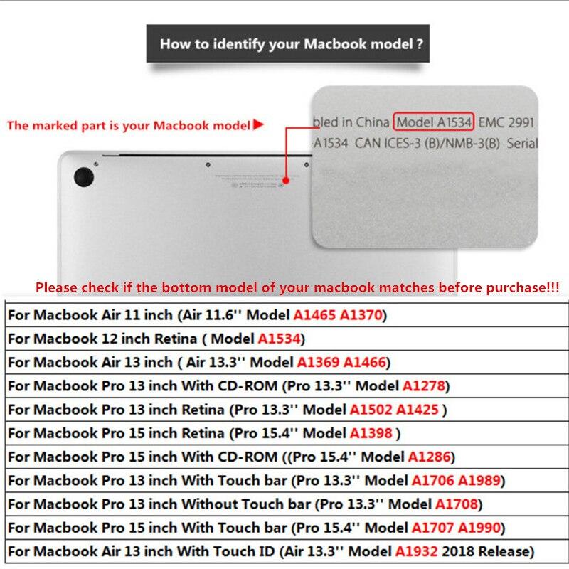 MTT чехол для ноутбука Macbook Air Pro Retina 11 12 13 15 16 мраморный Жесткий Чехол для mac book 13,3 дюймов с сенсорной панелью a1706 a1502