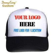 Gorra de camionero personalizada con logotipo gratuito Impresión de fotos  de texto para adultos hombres mujeres c7a02a525f8
