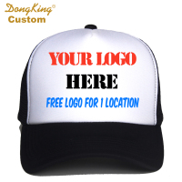 Custom Trucker Cap Free Logo Text Photo Print Adult Men Women Mesh Adjustable Snapback Personalized Gorras