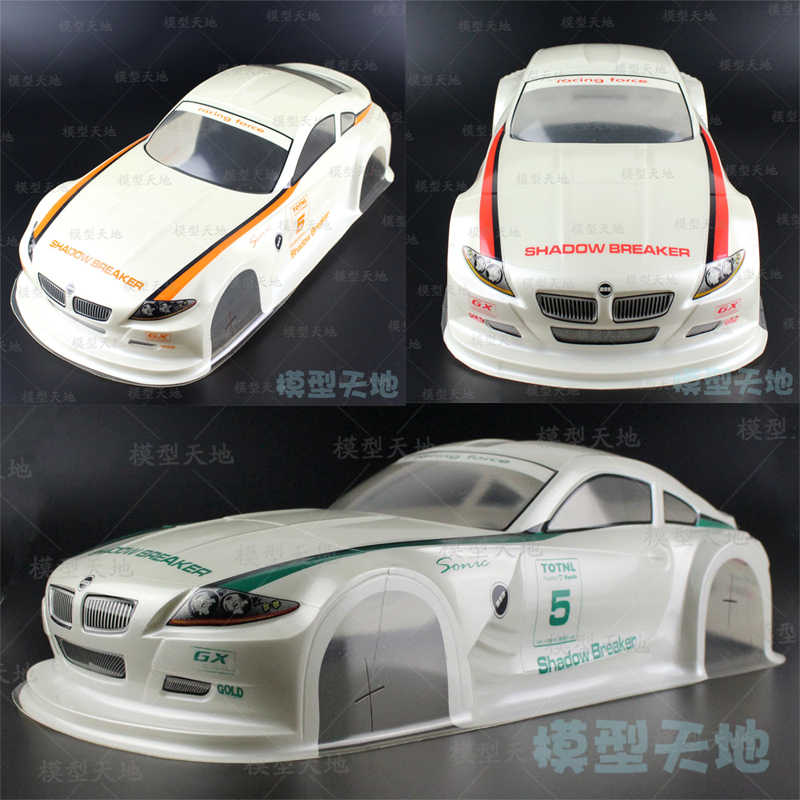 RC 1:10 Flat running On-Road Car Drift Car PVC 190MM Z4 Car shell For HSP/HPI/Tamiya/ Kyosho/Sakura 94122 94123 D3 D4 CS R31