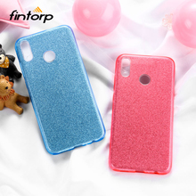 Luxury Bling Glitter Case for Huawei Y6 II Y7 Prime 2018 Y5 2017 Case Covers Coque for Huawei Honor 8X 6X 9 Lite 10 8 Pro V10 все цены